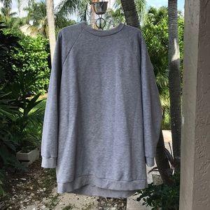 Lovers & Friends oversized sweatshirt dress